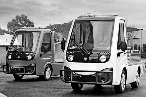 Tropos - Véhicules et camions utilitaires compacts électriques | Equipement et machinerie lourde | Cubex