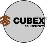 Logo Cubex | Equipement et machinerie lourde | Cubex